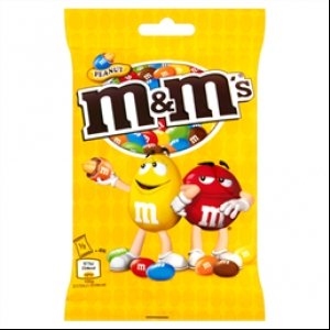M&M's Peanut pouch bag 90g
